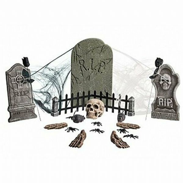 Halloween Build Your Own Cemetery Kit